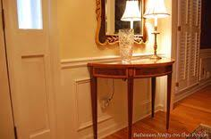 chair rail and moulding