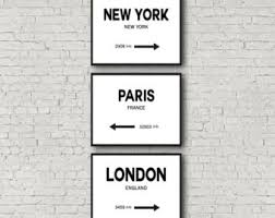 custom made city sign gicl e art home sign print city poster custom made wall art name city home town sign sizes up to 50cm x 70cm  on city names wall art with custom made wall art etsy