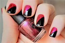 Nail Polish Ideas With Gallery Of Art 2 Color Nail Designs at Best ...