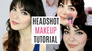 acting headshot make up tutorial katherine steele