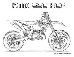 Coloriage De Moto Cross 7 On With Hd Resolution 1056x816 Pixels