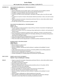 Radiologic Technologist Resume Sample New X Ray Tech Reference Of
