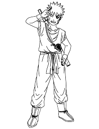 Naruto Coloring Pages Printable Coloringstar