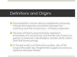 freud and psychoanalytic interpretation historical drama 4 definitions and originsiuml130curren psychoanalytic criticism