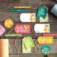 Summer Gift Tags Printable Summer Gift Tags