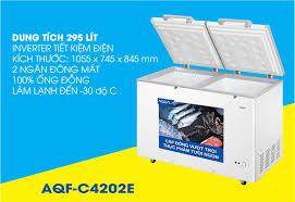 Tủ đông Aqua Inverter 295 lít AQF-C4202E chính hãng giá kho tại Tín Phát