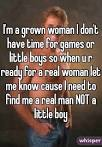 i need to find me a woman