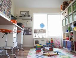 kids office. love this shared parent workchild ply space living with kids katy regnier office
