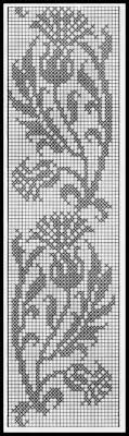 Thistle Knitting Chart Pin On Serwetki