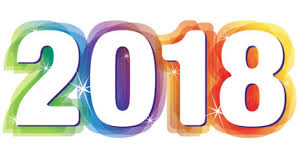 2018: it's going to be a great new year! |