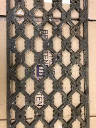 Antikes Guss Tür Fenster Gitter 1438x333x13mm Ebay