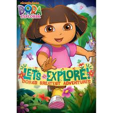Wartime Kitchen Garden Dvd Dora The Explorer Lets Explore Doras Greatest Adventures A