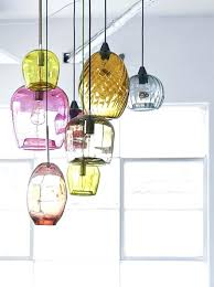 exposed light bulbs trend alert glass pendants blown with regard to hand blown glass pendant lights