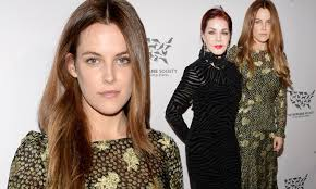 Riley Keough joins stylish grandmother Priscilla Presley at Humane Society  gala in LA | Daily Mail Online