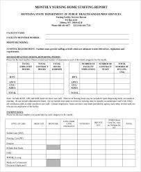 13 Nursing Report Templates Free Sample Example Format
