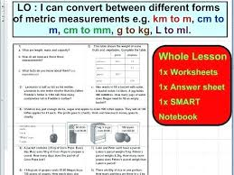Metric Measurement Conversion Chart For Kids 58 Skillful Metric Length System Chart