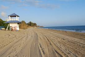 a few steps east you will find the funny beach this is a leisure centre with restaurant go kartings and lots of parking e in the funny beach you will