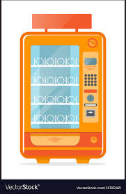 Empty Vending Machine Adorable Vending Machine With Empty Shelves Icon Royalty Free Vector