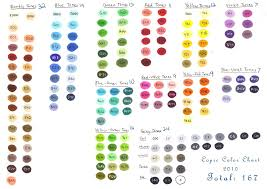 copic ciao color chart copic color chart 2010 by yu xin on deviantart