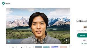 3 free office virtual backgrounds. Coming To Google Meet Customizable Backgrounds Nest Integration More Google Cloud Blog