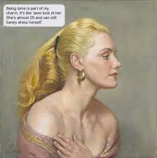 If Paintings Could Text — Joan Rhodes | Dame Laura Knight | 1955
