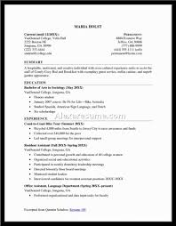 sample resume for college student summer job sample customer sample resume for college student summer job resume examples for college students and graduates sample college