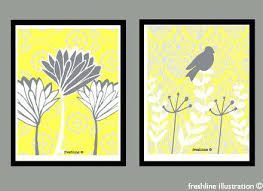 yellow and gray wall decor set of two art prints canvas on wall decor prints with yellow and gray wall decor set of two art prints canvas palletcover