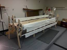 14jan2014 001_m.jpg & Shown is the GMQ Pro frame machine quilting system. This particular model  is unfinished and can be finished with any stain. The Grace Quilting  Systems have ... Adamdwight.com