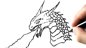 Comment Dessiner Un Dragon L Int Rieur Dessin De Dragon