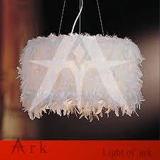 Us 1000 Arche Licht Kopie Design Einfachheit Kreative Kinder Schlafzimmer Kinderzimmer Feder E27 Kronleuchter Licht Lampe In Arche Licht Kopie