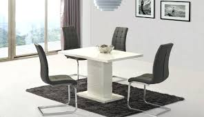 full size of round gl table white chairs dining and gloss room set awesome grey extending