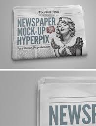 Newspaper Psd Template Download Newspaper Mockup Free Download Psd Template Hyperpix