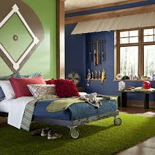 boys room baseball theme room big boy baseball room grass rug turf