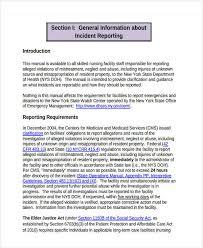 30 Incident Report Template In Pdf Free Premium Templates