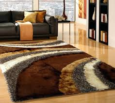 chocolate brown rugs u0026 silver hand made rug with
