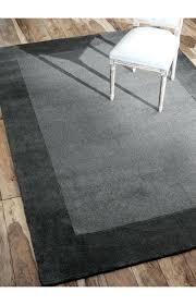 dark gray area rug endearing solid grey wool crate and barrel rugs large dark gray area rug