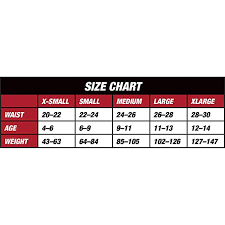 Youth Baseball Pants Size Chart Franklin Sports Classic Fit Deluxe Youth Baseball Pants