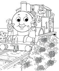 Thomas Train Coloring Page Train Coloring Pages Free The Train