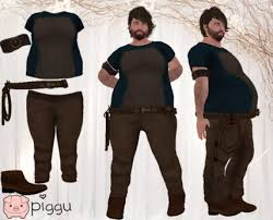 Arm Pants Second Life Marketplace Piggu Jonathan Medieval Whip Man Outfit