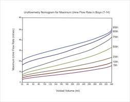 Uroflowmetry Nomogram For Maximum Urine Flow Rates In Boys 7