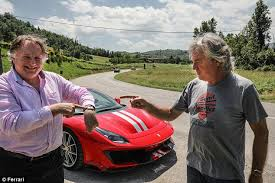 Then goes for a reasonably fast drive. James May Ray Massey Drive The New Ferrari 488 Pista The James May Board