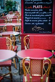 Outdoor seating at le consulat cafe in montmartre paris france stock image our image licences