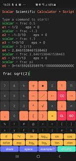 Decimal To Fraction Calculator Chart Scalar Fractions Converting Decimal To Fraction Scalar