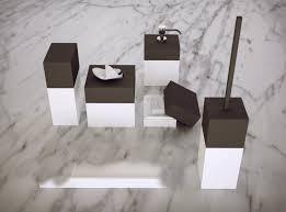 Modern Bathroom Accesories Knief K Stone Pure Bathroom Accessories In White Bathroom