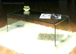 decoration coffee table acrylic side clear black glass top uk