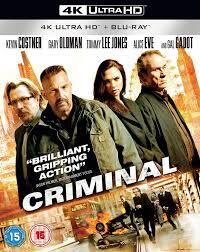 Criminal [Edizione: Regno Unito]: Amazon.it: Film e TV