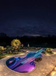 Dazzling Swimming Pool Replica of an 18th Century Stradivarius ...