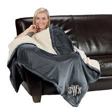Monogrammed Blankets And Throws