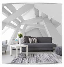 Tapeten Ideen Wohnzimmer Schöne Beton Tapete Vliestapete Shabby
