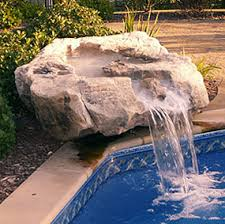 inground pools with rock waterfalls. Dixon Pool And Spa \u003e Pools In-ground Add-On Options Fountains \u0026 Waterfalls Inground With Rock